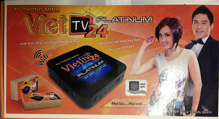 TV THÔNG MINH CABLE BOX, New World Communications Canada